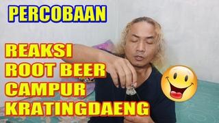 Alan Kribo -Kratingdaeng Campur Root Beer ini Rasa dan Reaksinya