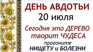 20 июля народный праздник Авдотья Сеногнойка. Что нельзя делать. Народные традиции и приметы.