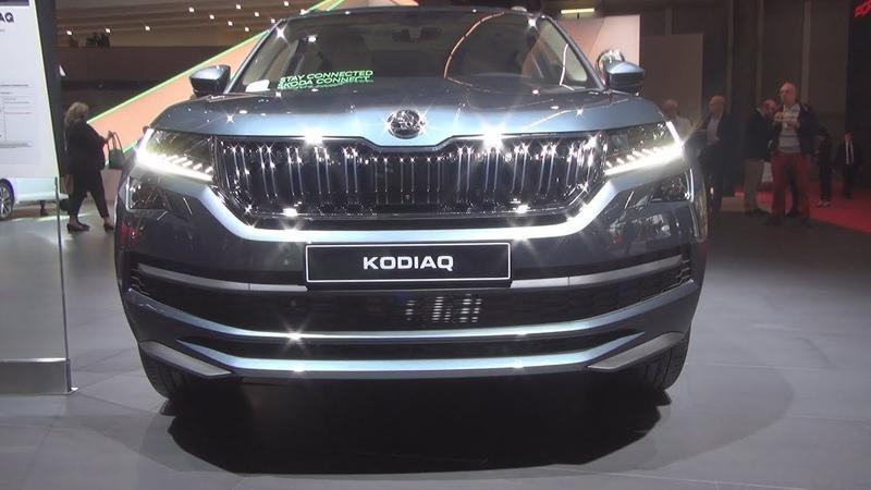 Škoda Kodiaq LaurinKlement 7-Seat 2.0 TSI 190hp DSG7 4x4 (2019) Exterior and Interior