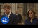 Queen Letizia tours Westminster Abbey with Prince Harry - Daily Mail
