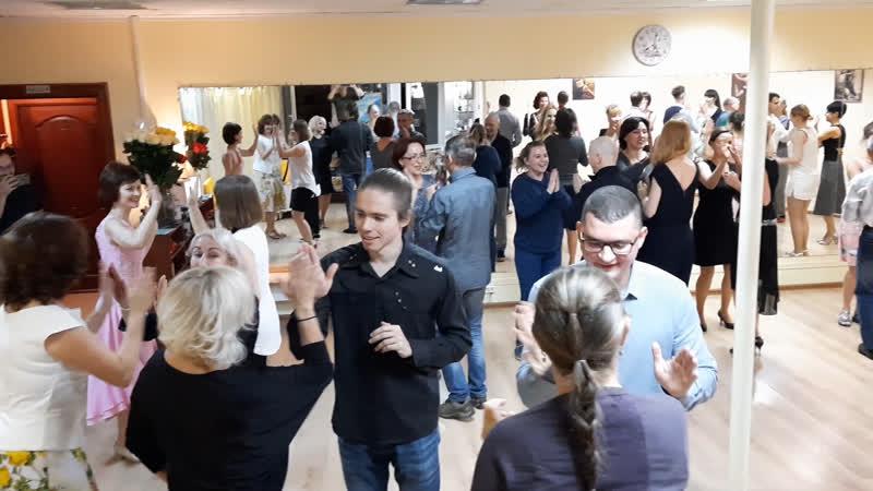 Берлинская полька в студии Свободное танго