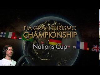 Вторая гонка 5го этапа кубка наций. Gran Turismo SPORT / Nations Cup | 2020/21