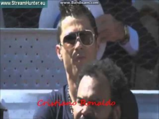 Cristiano Ronaldo, Sergio Ramos, Pepe, Fernando Llorente attend Madrid Open to watch Rafael Nadal