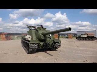 SU-85 & ISU-122 Padikovo Patriot Park