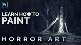 Realistic Horror - Digital Art Techniques