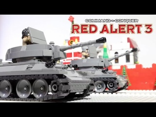Red Alert 3 - Soviet March in LEGO world / советский марш из игры Ред Алерт 3