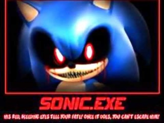 SONIC. EXE GET OUT ALIVE (you Can't Run)