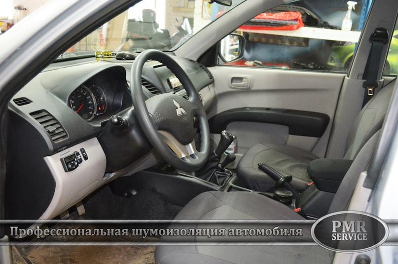 Шумоизоляция Mitsubishi L200, изображение №17