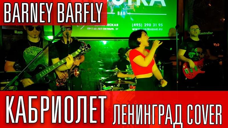 BARNEY BARFLY Кабриолет Все идет по плану Ленинград cover