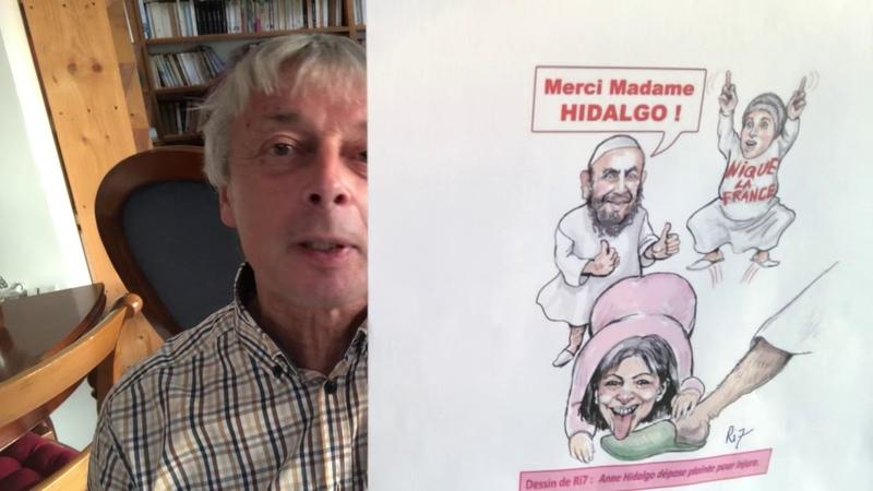Hidalgo comme les islamos veut interdire les caricatures