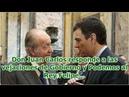 Don Juan Carlos responde a las vejaciones de Gobierno y Podemos al Rey Felipe