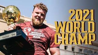 2021 SBD World's Strongest Man Winner - Tom Stoltman