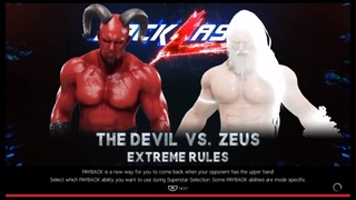 The Devil vs. Zeus(WWE 2k19)