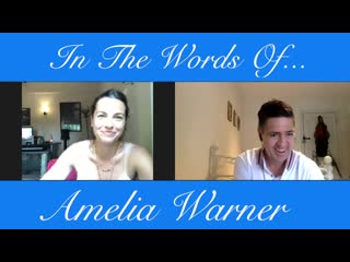 In The Words Of Amelia Warner (Video Interview)