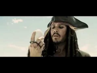 Pirates Of The Caribbean: At World's End - Captain Jack Sparrow and the rock crabs
