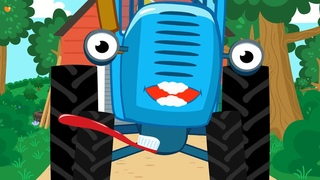 ЗУБКИ - Синий Трактор - Песенки про здоровье и гигиену! Сборник для малышей