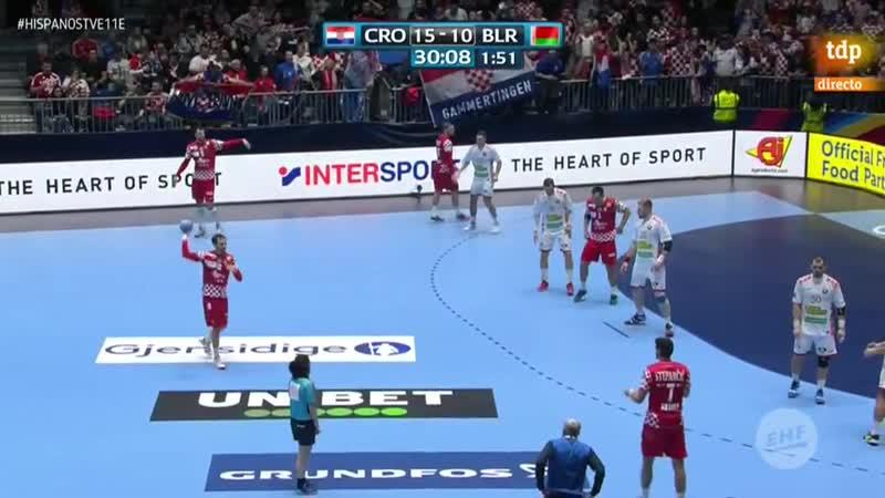 Campeonato de Europa Masculino Croacia Bielorrusia