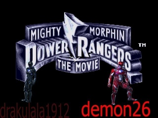 Mighty Morphin Power Rangers - The Movie,прохождение шедевра