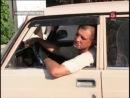 После столкновения с забором владелец «Жигулей» мирно заснул за рулем