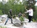 Russians outdoor
