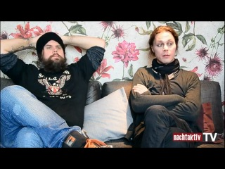 Ville Valo And Mige Amour Interview Nachtaktiv tv Berlin 06 03 2013