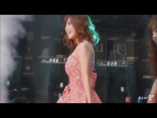 "[fancam:perf] 130629 secret - ""yoohoo"" + ""love is move"" @ ""world of tanks"" korean league final eve"