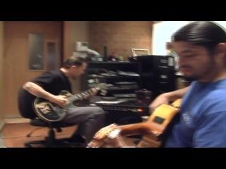 Metallica - Robert Trujillo  Plays Acoustic Guitar  (Flamenco) [Making Magnetic]