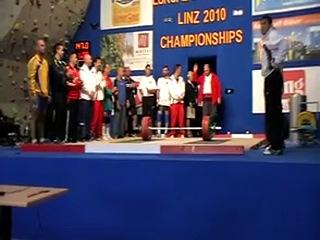 Австрия 2010 г. Линц Чепионат Европпы среди ветеранов М-1 (35-39лет)