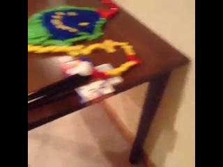 Mini rube goldberg