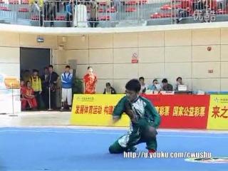 Сунь Кан - 2-е место цюаньшу ЧК ушучуаньтун 2014 (танланцюань)