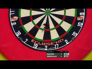 Jelle Klaasen vs Dean Winstanley (Players Championship Finals 2014 / Round 2)