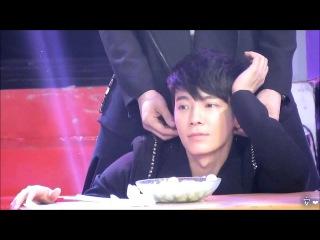 [Fancam][HD]130118 SJM JIANGSU TV Program - DongHae Focus