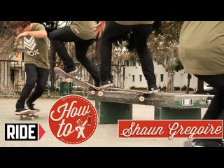 How-To Skateboarding: Frontside Tailslide 270 with Shaun Gregoire