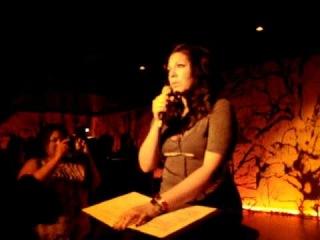 Sara Ramirez - How Could I Ever Know (New York 10/04/10)