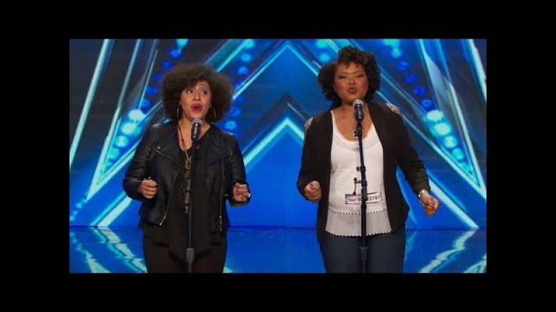America's Got Talent S09E01 Acte II Opera Singing Duet Olanna Goudeau Ashley Renée Watkins