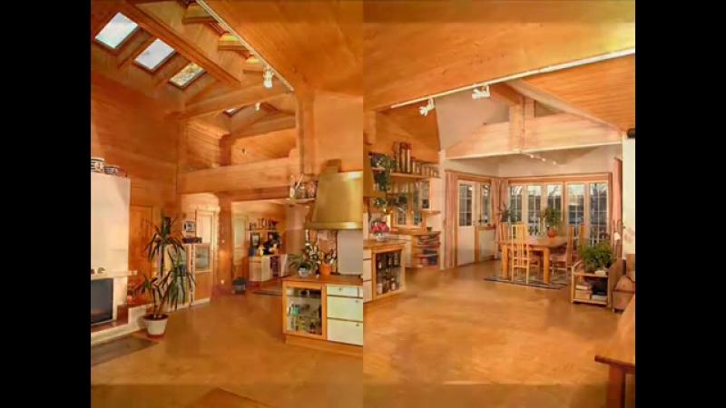 Уютные интерьеры деревянных домов » Freewka.com - Смотреть онлайн в хорощем качестве