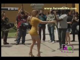 AE 05-12-2011 Jennifer Lopez llego al Peru para buscar talentos en nuevo reality