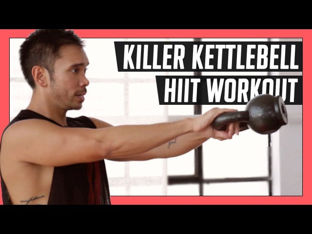 10 Minute Killer Kettlebell Workout for an Efficient HIIT Total Body Workout Mike Donavanik