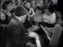 Chico and Harpo playing Piano and Harp - The Marx Brothers: A Night at the Opera (1935)