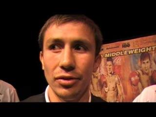 Golovkin interview