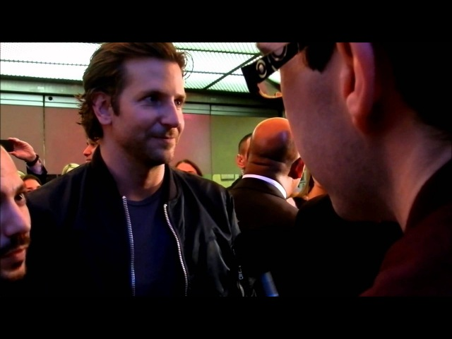 Philly Red Carpet Premiere Bradley Cooper Brian Klugman The Words
