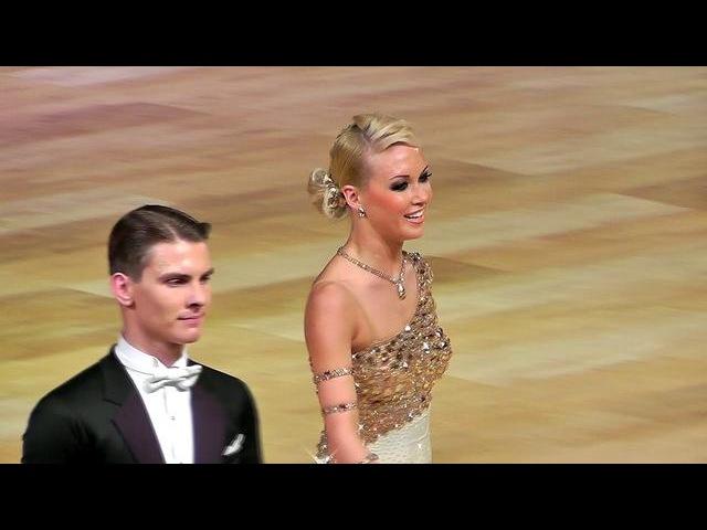 Дмитрий Жарков и Ольга Куликова - Медленный фокстрот (Танцфорум 2012, финал)