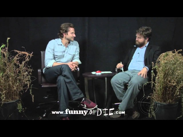 TheBrainDown Between Two Ferns Между двух папоротников Bradley Cooper