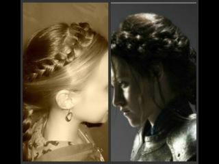 Snow White And The Huntsman Hairstyle, Kristen Stewart Braids