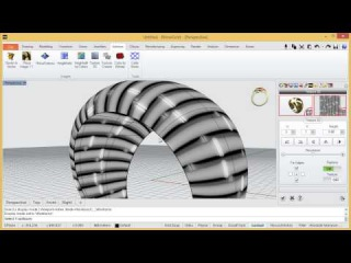 RhinoGold Podcast - 1 Day 1 Trick - 19/02/2014 - Create a Texture
