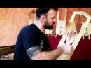 Struming technique on Trossingen lyre - ©Ar Mor Benjamin Simao