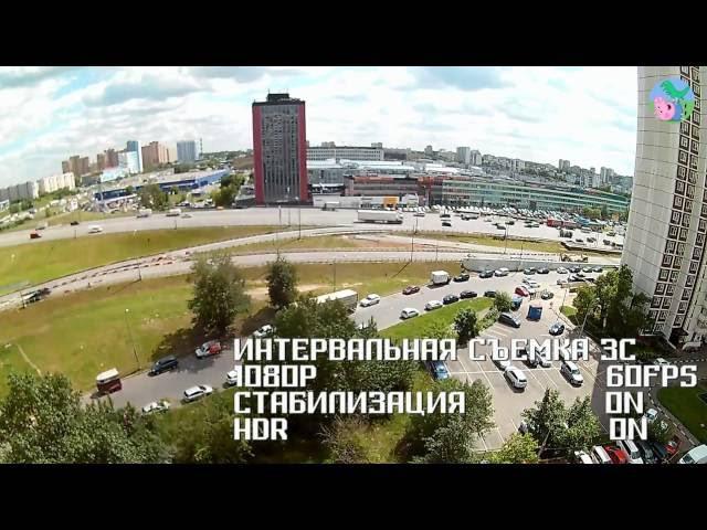 Тестовое видео 4 GMINI MagicEye HDS5000 Timelapse 1920х1080 60fps