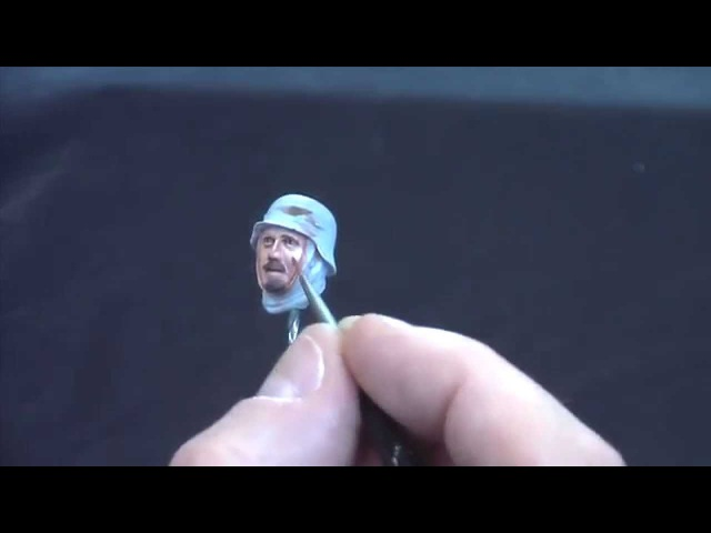 Painting Figures with Acrylics Part Two The Face