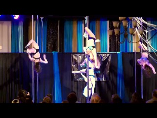 Group Pole Routine at Bittersweet Studios' 2nd Anniversary Party - Goldcheaper