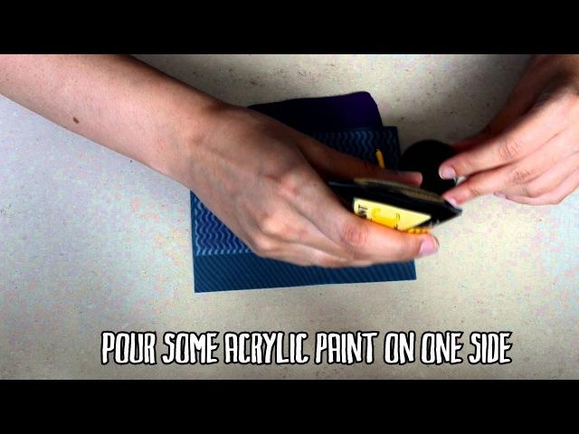 Serigrafía en arcilla polimérica Silkscreen on polymer clay